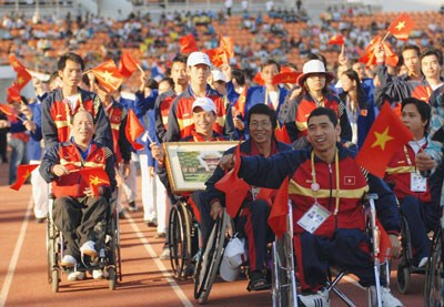 Vietnam competes in nine sports in ASEAN Paragames 2015 hinh anh 1
