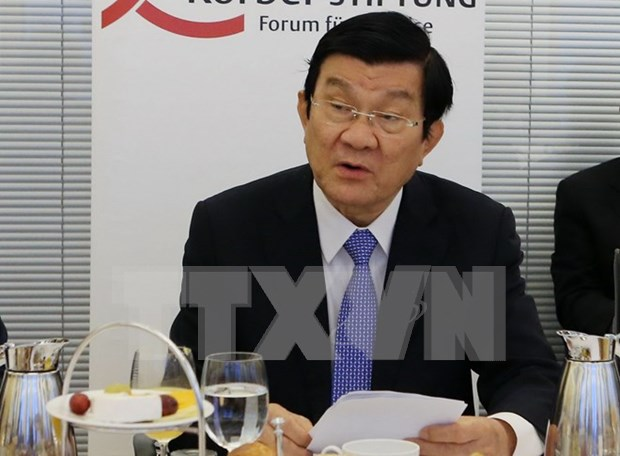 President hails Vietnam-Germany economic cooperation potential hinh anh 1