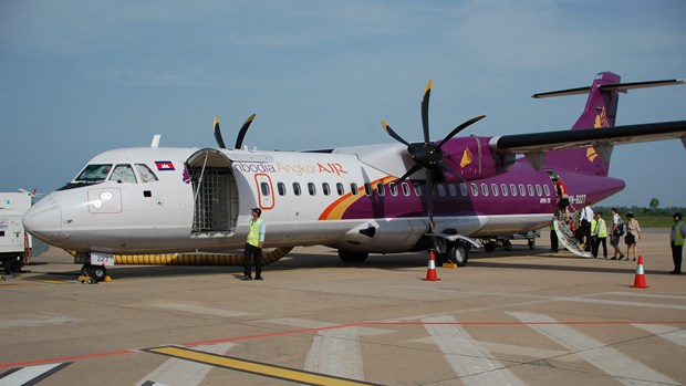 Cambodia Angkor Air launches air route to Vientiane hinh anh 1
