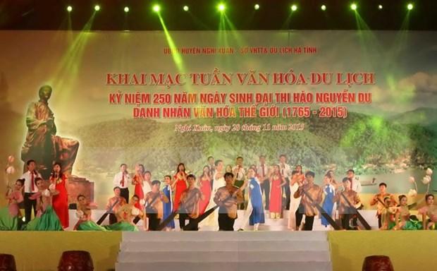 Culture, tourism week honours poet Nguyen Du hinh anh 1