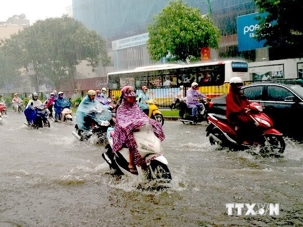 Hanoi accelerates construction of flood warning system hinh anh 1