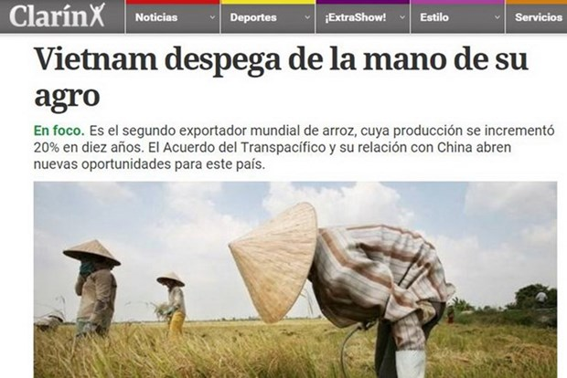Argentine press: Vietnam takes off from agriculture hinh anh 1