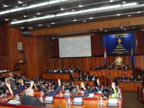 Cambodian parliament passes 4.6 bln USD for 2016 state budget hinh anh 1