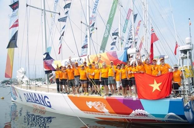 Da Nang yacht arrives in Perth, West Australia hinh anh 1