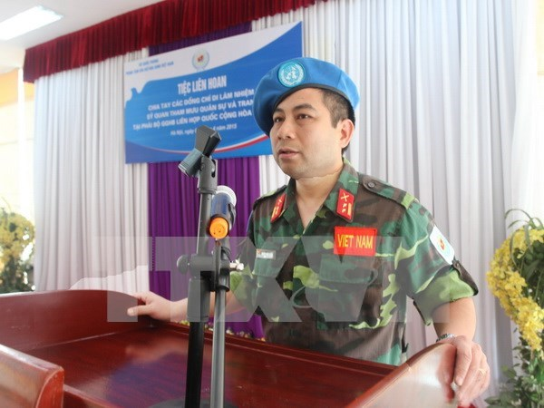 Vietnam, China boost UN peacekeeping-related cooperation hinh anh 1