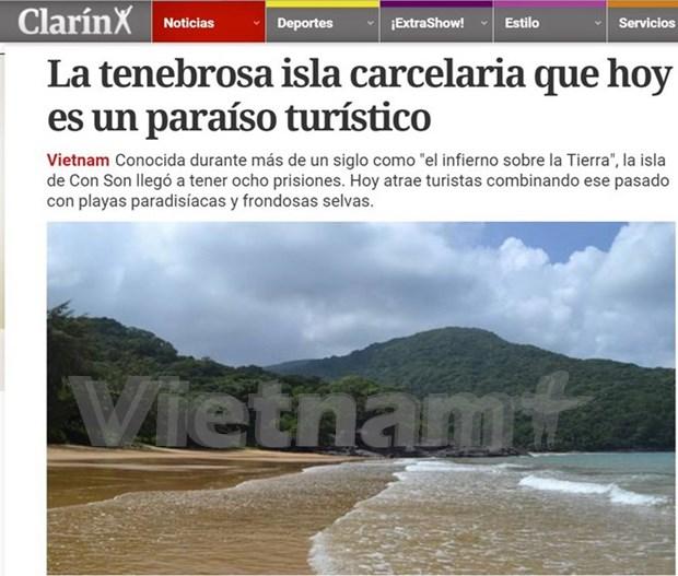 Argentine newspaper spotlights Con Dao Islands hinh anh 1