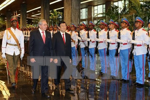 Congratulations on Vietnam-Cuba ties' 55th founding anniversary hinh anh 1