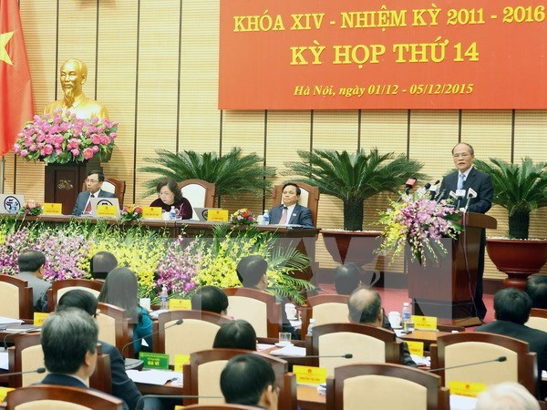 Hanoi People's Council convenes 14th session hinh anh 1