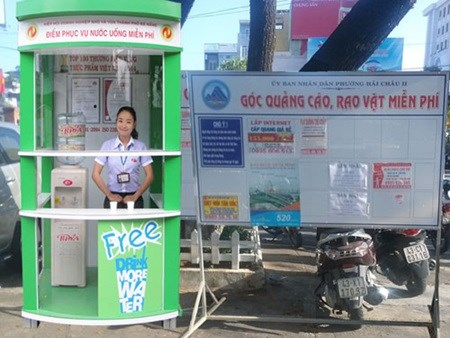 Da Nang to provide free drink water to tourists hinh anh 1