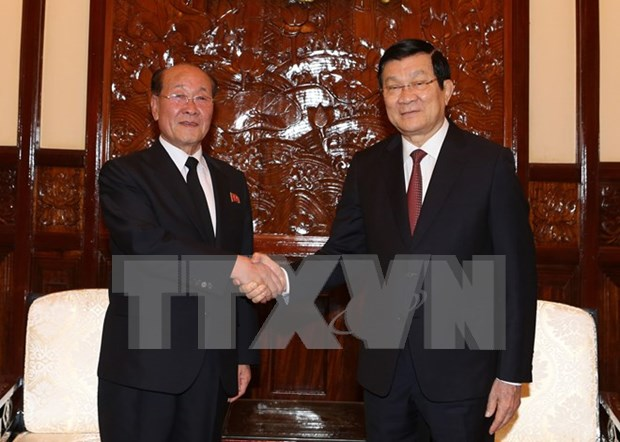 State President greets DPRK prosecutor hinh anh 1