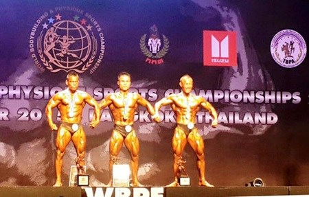 Vietnam win bodybuilding championship gold medals hinh anh 1