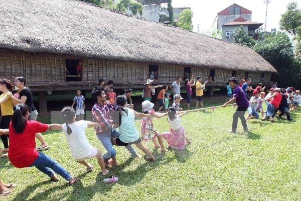 Tugging rituals, games named cultural heritage of humanity hinh anh 1