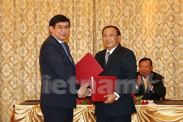 BIDV helps Laos develop infrastructure hinh anh 1