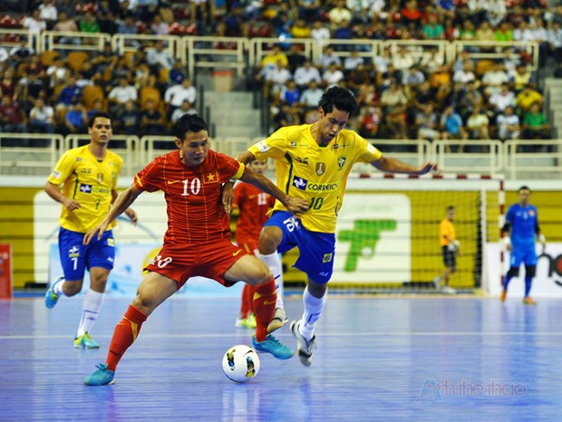 Vietnam in Group C at AFC futsal tournament hinh anh 1