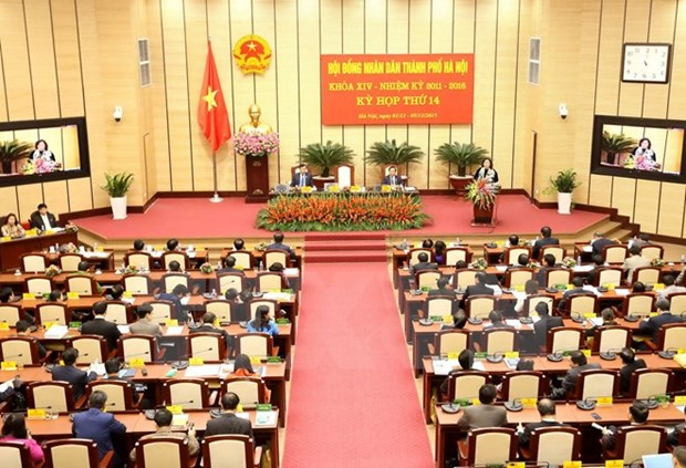 Hanoi People's Council wraps up 14th session hinh anh 1