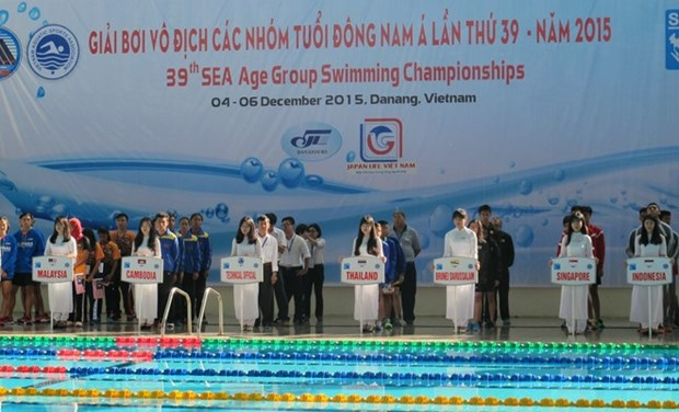 Age Group Swimming Championship opens in Da Nang hinh anh 1