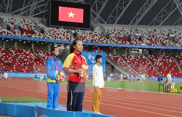 ASEAN ParaGames: Vietnam pockets more golds hinh anh 1