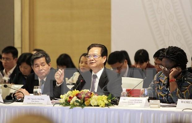 Prime Minister attends Vietnam Development Partnership Forum hinh anh 1