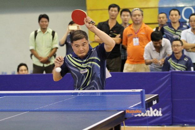 Asia-Pacific veteran table tennis champs winds up hinh anh 1