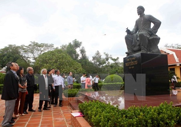 Nguyen Du memorial site to become national culture site hinh anh 1