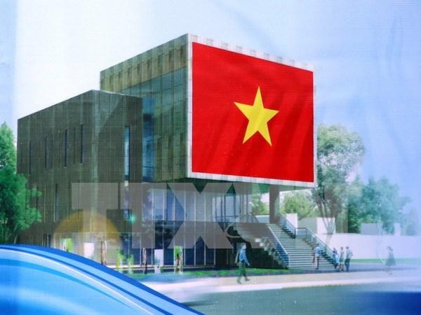 Work starts on Hoang Sa exhibition centre in Da Nang hinh anh 1