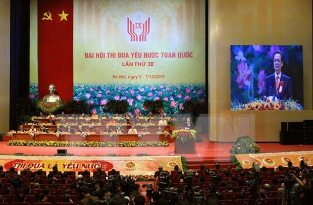 Ninth National Patriotic Emulation Congress opens in Hanoi hinh anh 1