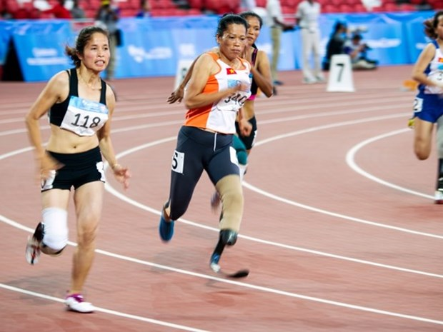 ASEAN Para Games: More gold medals for Vietnam hinh anh 1