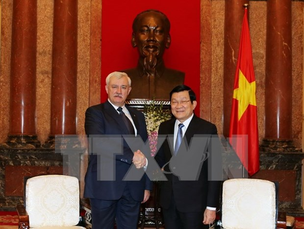 HCM City, St Petersburg bolster multifaceted affiliations hinh anh 1