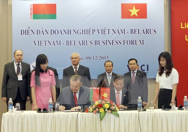 Vietnamese, Belarusian businesses seek investment opportunities hinh anh 1