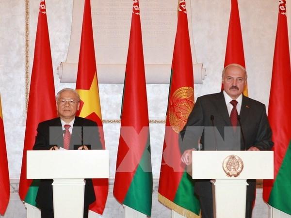 Belarusian President begins Vietnam visit hinh anh 1