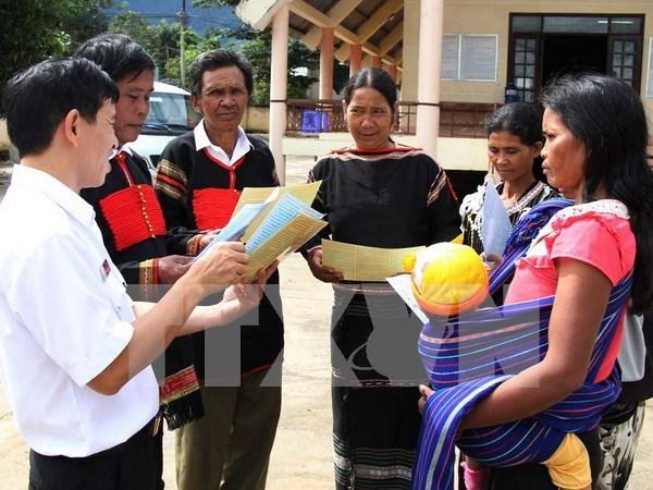 Ethnic minority development goals focused hinh anh 1