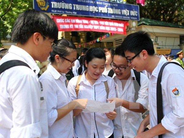 Exchange activities held between Viet Duc, Kurume Shogyo high schools hinh anh 1