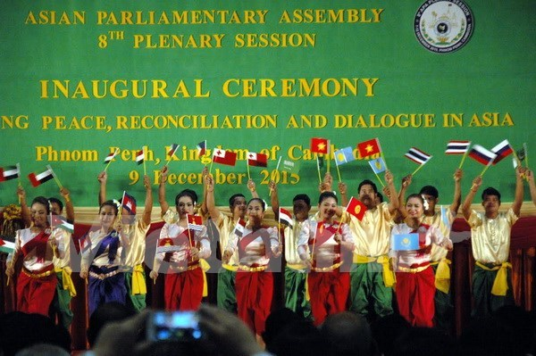 Asian Parliamentary Assembly convenes 8th meeting in Cambodia hinh anh 1