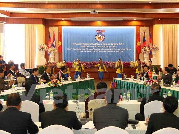 Vietnam, Laos, Cambodia promote Development Triangle area hinh anh 1