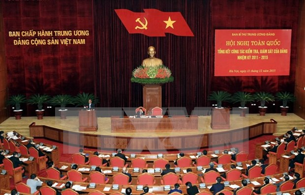 Party's inspection, supervision work reviewed hinh anh 1