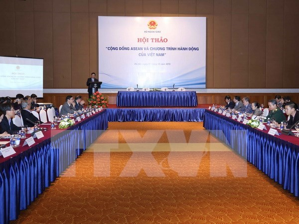 Workshop looks to raise awareness of ASEAN Community hinh anh 1