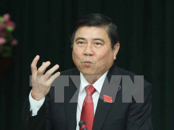 Chairman of HCM City's People Committee named hinh anh 1