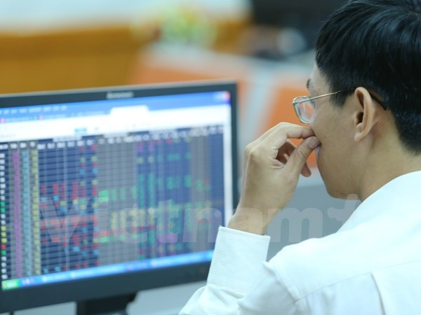 Vietnamese shares decline for second day hinh anh 1