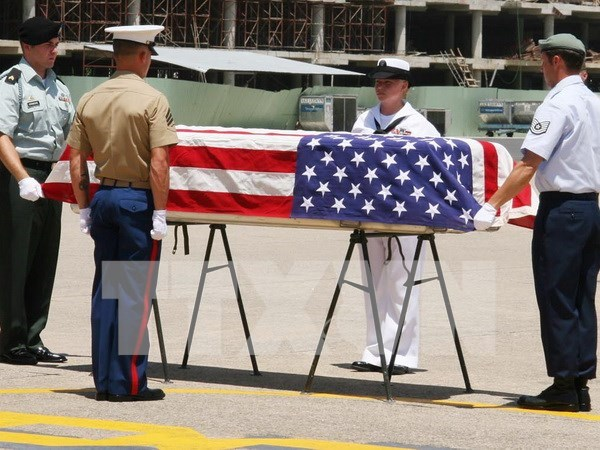 Possible remains of US servicemen repatriated hinh anh 1