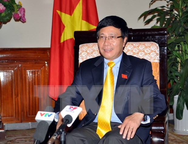 Foreign Minister discusses new position of multilateral diplomacy hinh anh 1