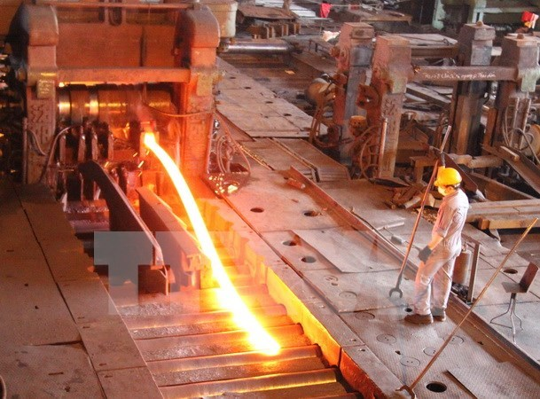 Steel industry growth hits record in 11 months hinh anh 1