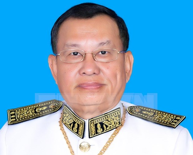 Cambodia Senate President begins official visit to Vietnam hinh anh 1
