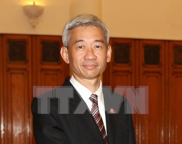 Thai Ambassador awarded friendship insignia hinh anh 1