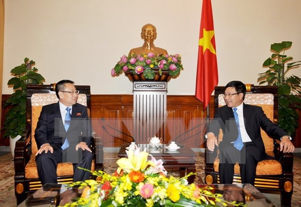 DPRK Ambassador vows to boost relations with Vietnam hinh anh 1