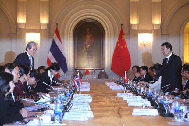 Thailand, China cement economic ties hinh anh 1