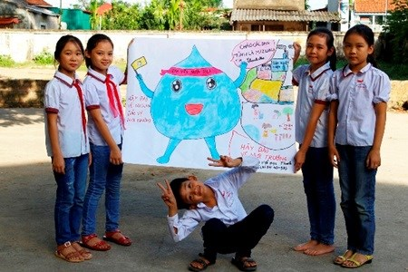 Pilot programme improves students' awareness on water conservation hinh anh 1