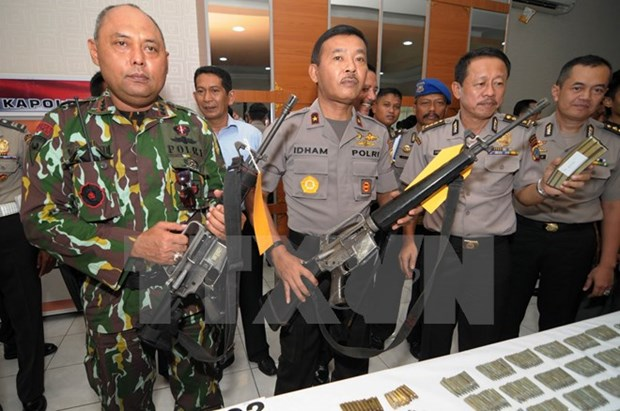 Indonesian police on full alert after arrests hinh anh 1