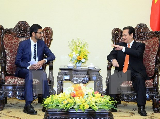 PM vows continued favourable conditions for Google hinh anh 1