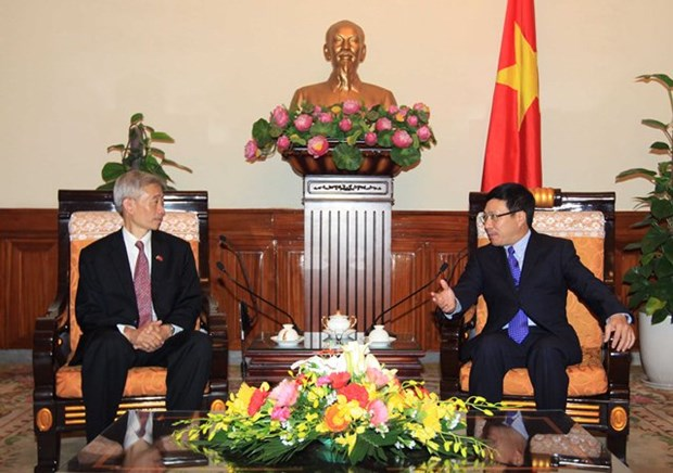 Deputy Prime Minister meets outgoing Thai Ambassador hinh anh 1