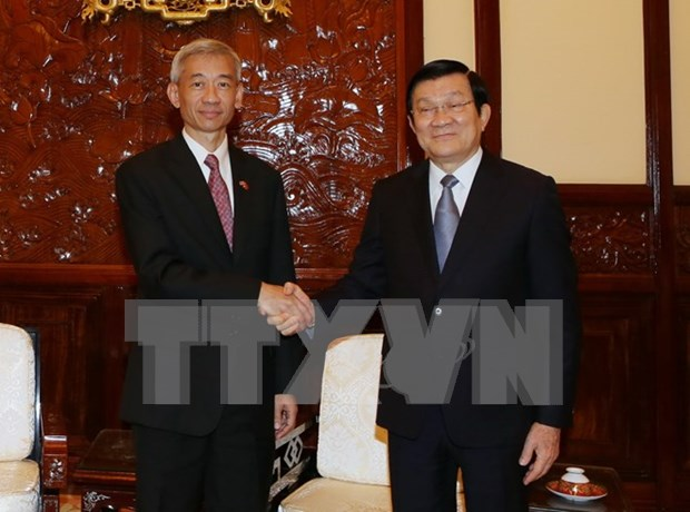 President hails Thai Ambassador's successful tenure in Vietnam hinh anh 1